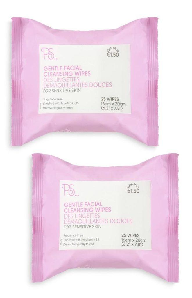 Pack de 2 toallitas faciales suaves