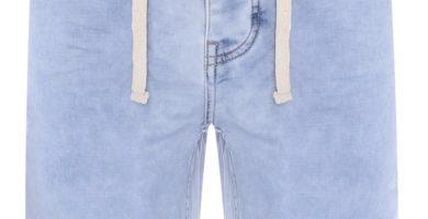 Pantalón corto vaquero de punto