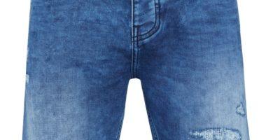 Pantalón corto vaquero oscuro