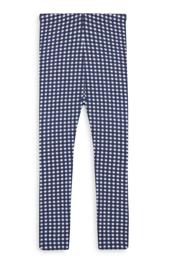 Pantalones de gingham