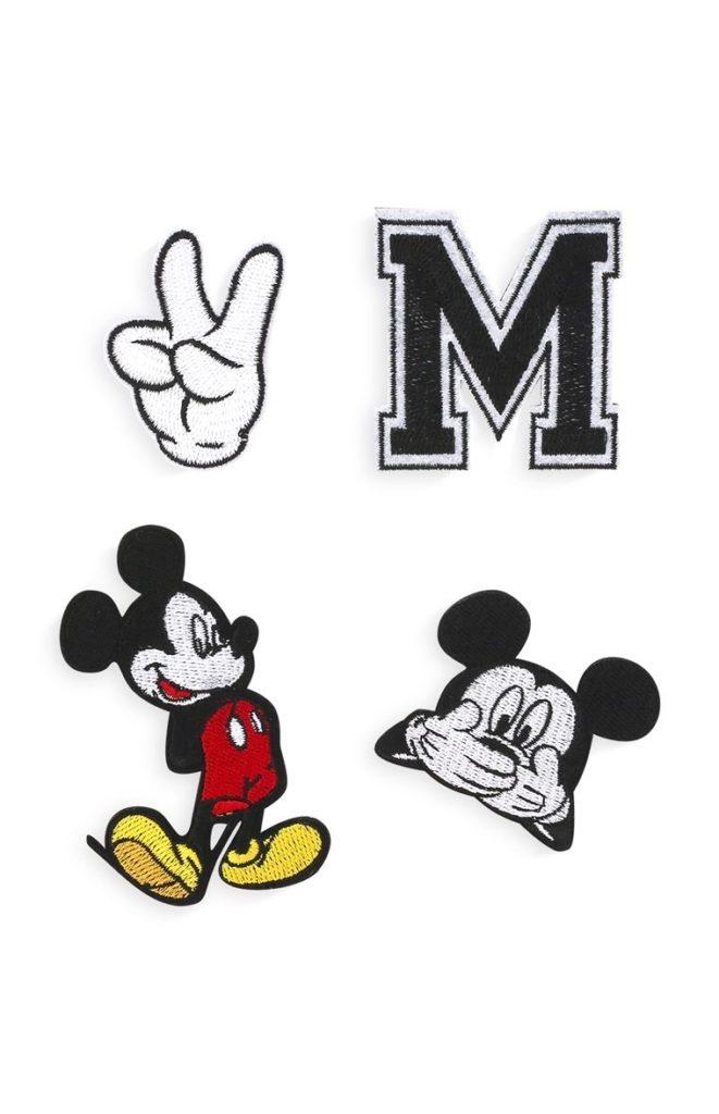 Parches de Mickey Mouse