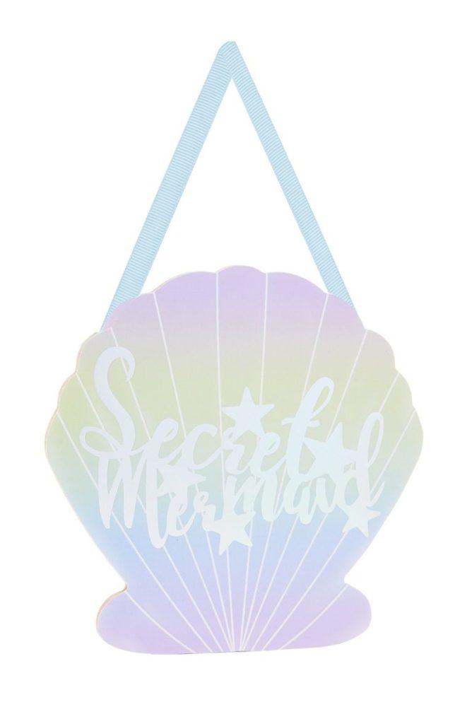 Placa «Secret Mermaid»