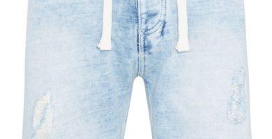 Shorts vaqueros azul claro