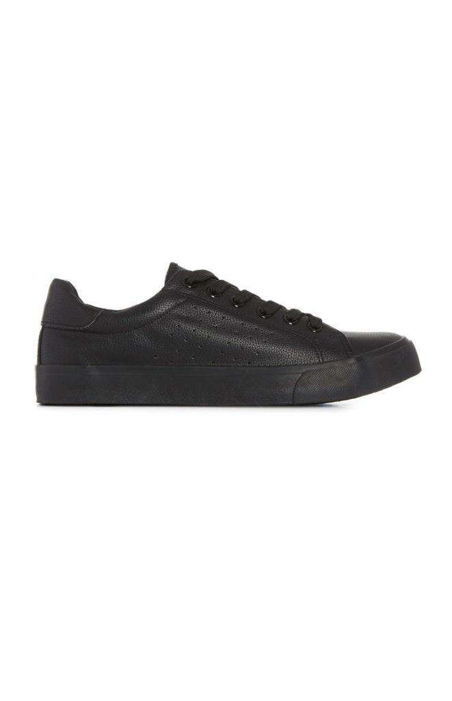 Zapatos furtivos negros