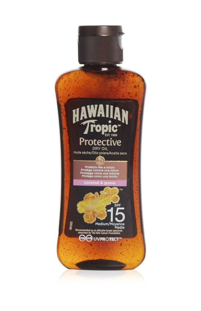 Aceite seco factor 15 de Hawaiian Tropic