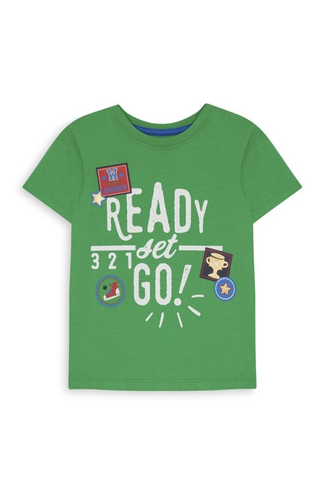 Camiseta Green Slogan