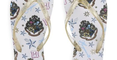 Chanclas blancas de Harry Potter