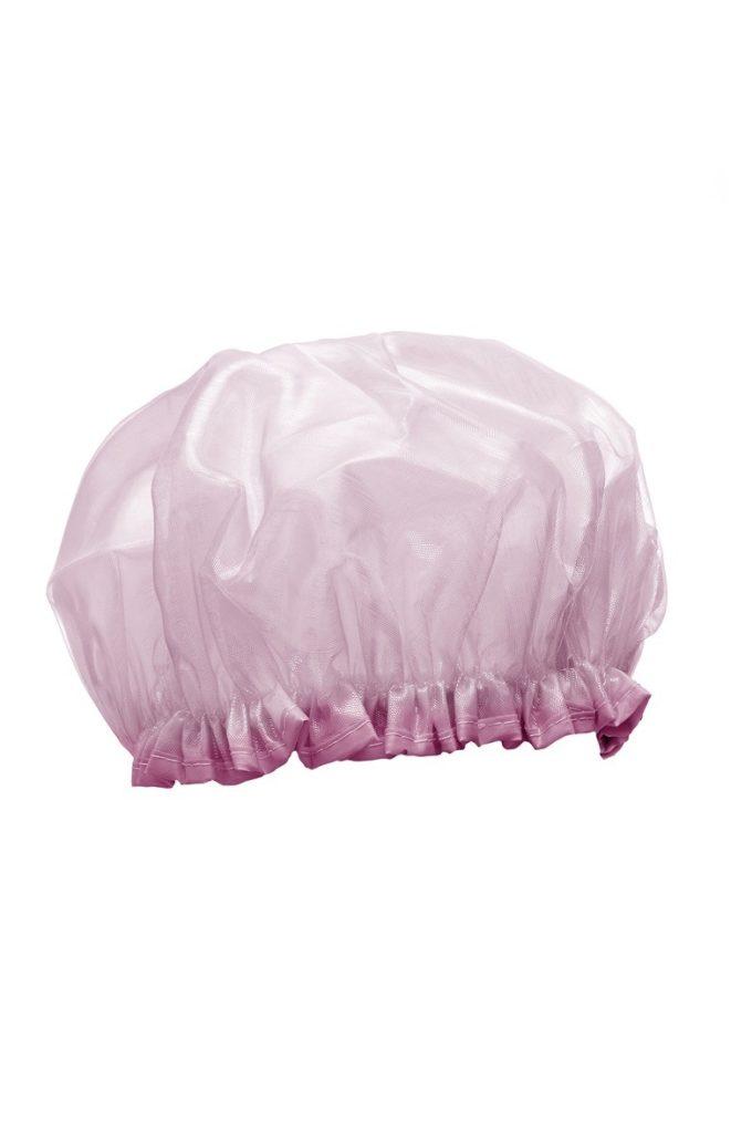 Gorro de ducha rosa