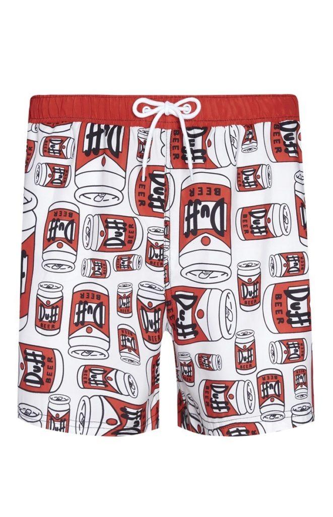 Pantalón corto de Los Simpson