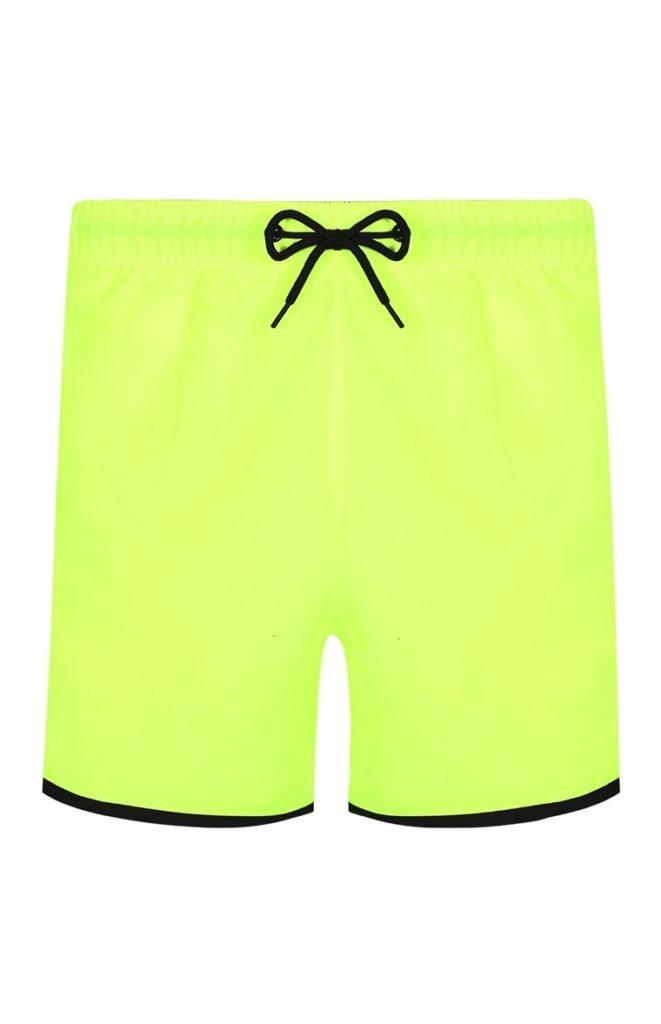 Pantalón corto flúor