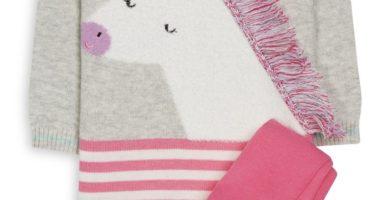 Set de unicornio para bebe niña
