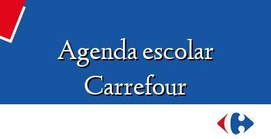 Comprar &#160Agenda escolar Carrefour