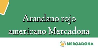 Comprar &#160Arandano rojo americano Mercadona