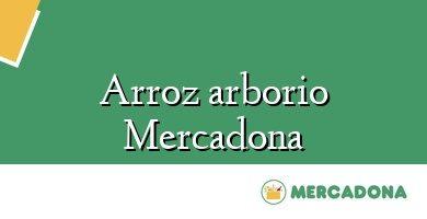 Comprar &#160Arroz arborio Mercadona