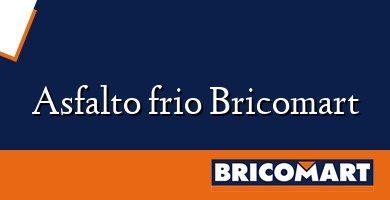 Asfalto frio Bricomart