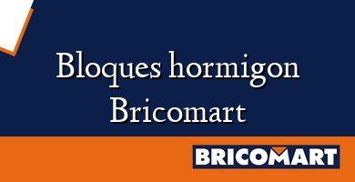 Bloques hormigon Bricomart