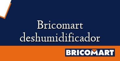 Bricomart deshumidificador