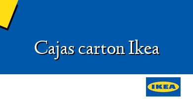 Comprar  &#160Cajas carton Ikea