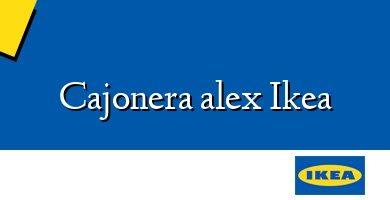 Comprar &#160Cajonera alex Ikea