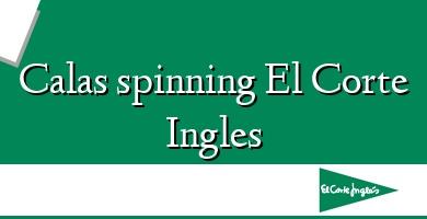 Comprar  &#160Calas spinning El Corte Ingles