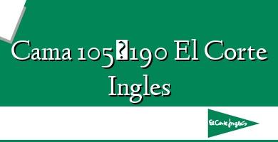 Comprar  &#160Cama 105×190 El Corte Ingles