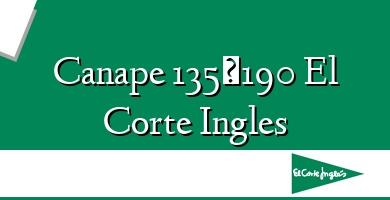 Comprar &#160Canape 135×190 El Corte Ingles