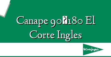 Comprar &#160Canape 90×180 El Corte Ingles