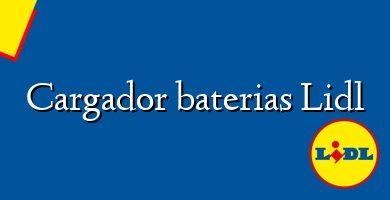 Comprar &#160Cargador baterias Lidl