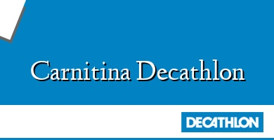 Comprar  &#160Carnitina Decathlon