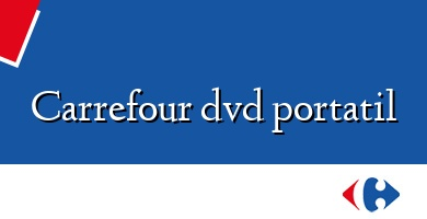 Comprar  &#160Carrefour dvd portatil