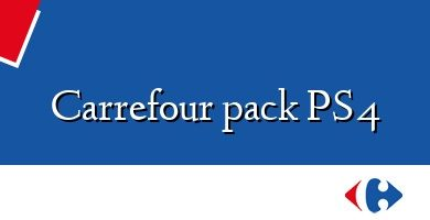 Comprar &#160Carrefour pack PS4