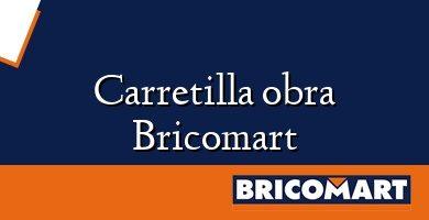 Carretilla obra Bricomart