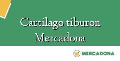 Comprar &#160Cartilago tiburon Mercadona