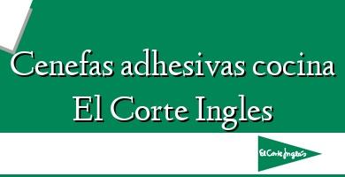 Comprar &#160Cenefas adhesivas cocina El Corte Ingles