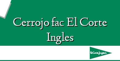 Comprar  &#160Cerrojo fac El Corte Ingles