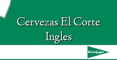 Comprar  &#160Cervezas El Corte Ingles