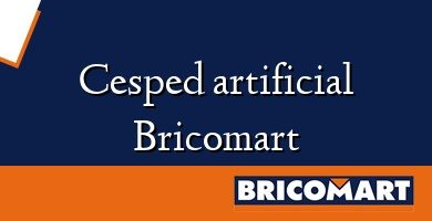 Cesped artificial Bricomart
