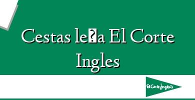 Comprar  &#160Cestas leña El Corte Ingles