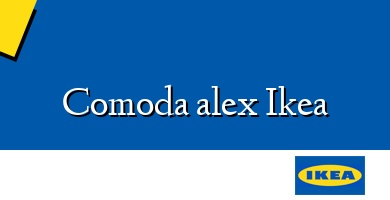 Comprar &#160Comoda alex Ikea
