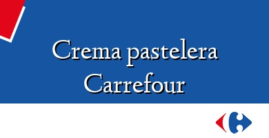 Comprar  &#160Crema pastelera Carrefour