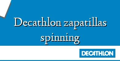 Comprar &#160Decathlon zapatillas spinning