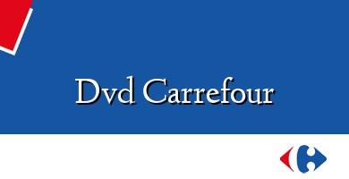Comprar  &#160Dvd Carrefour