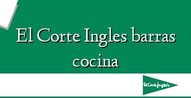 Comprar  &#160El Corte Ingles barras cocina