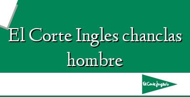 Comprar  &#160El Corte Ingles chanclas hombre