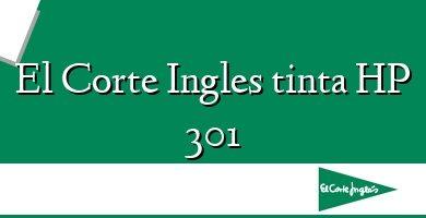 Comprar  &#160El Corte Ingles tinta HP 301