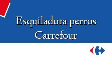 Comprar  &#160Esquiladora perros Carrefour