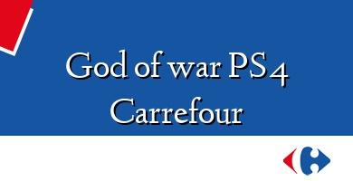 Comprar  &#160God of war PS4 Carrefour