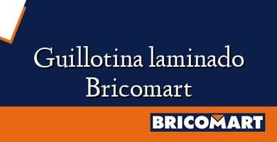 Guillotina laminado Bricomart