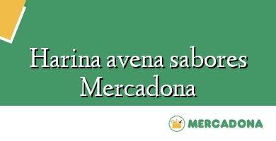Comprar &#160Harina avena sabores Mercadona