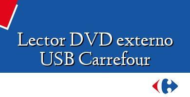 Comprar &#160Lector DVD externo USB Carrefour